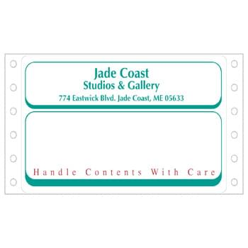 "Die Cut Roll Shipping Labels (2 15/16""x5"")"