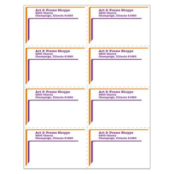 "Laser Sheeted Labels (2 3/4""x4 1/4"")"